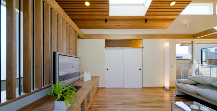 完全自由設計施工 ALLの高級注文住宅 CASE 04 二律背反収家