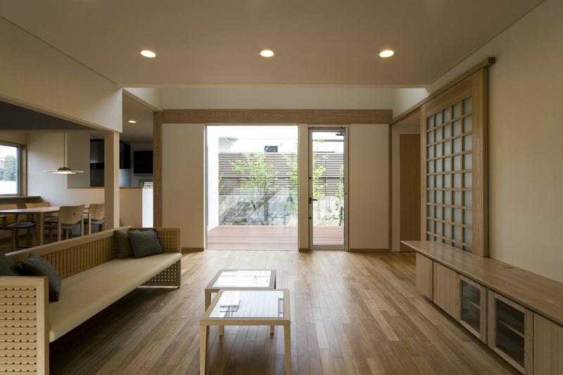 ALLの高級注文住宅「ウッドデッキを囲む家」6