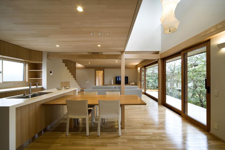 ALLの高級注文住宅「二線の美を重ねる家」1