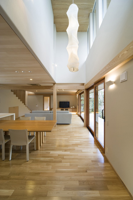ALLの高級注文住宅「二線の美を重ねる家」4