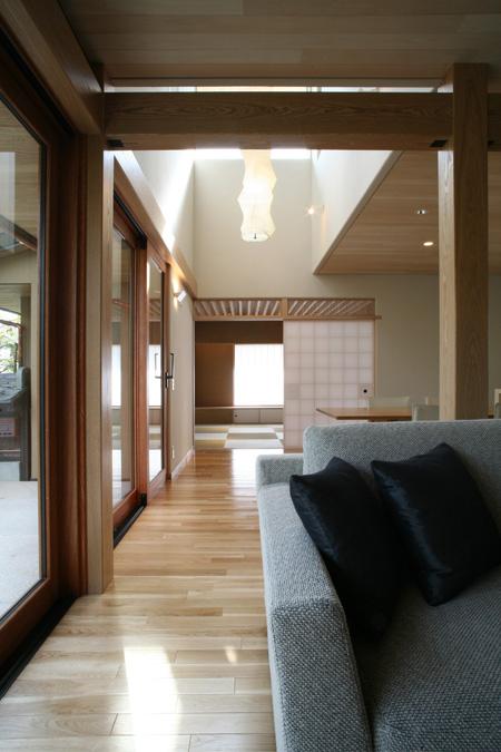 ALLの高級注文住宅「二線の美を重ねる家」7