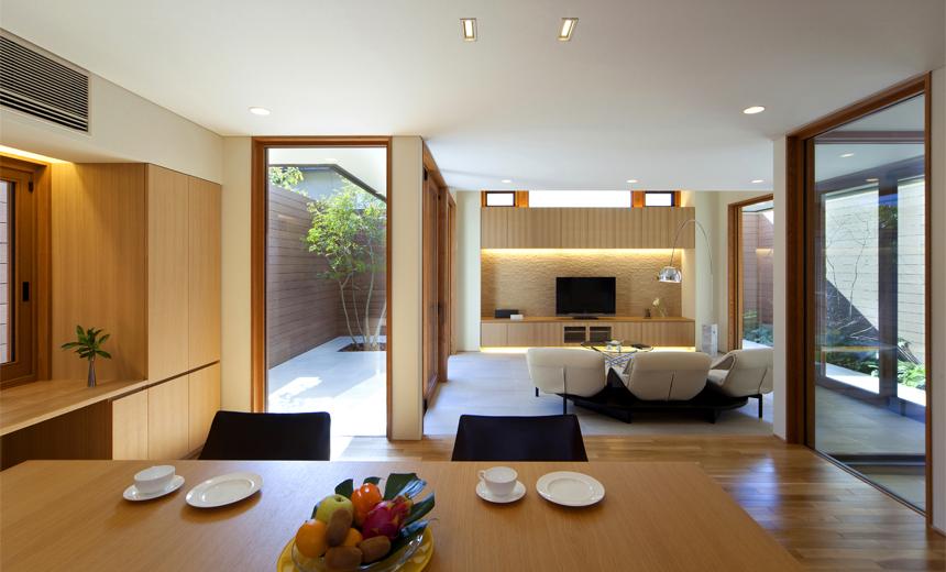 ALLの高級注文住宅「三角屋根の家」3