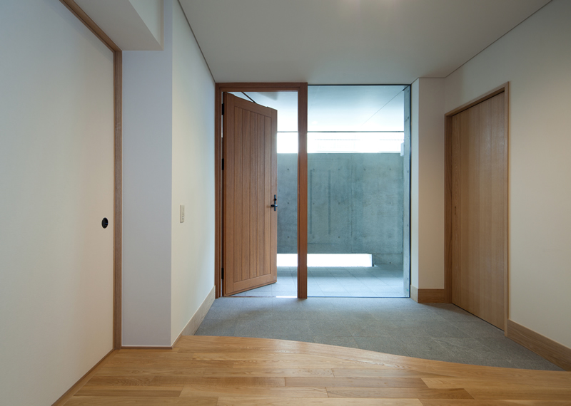 ALLの高級注文住宅「囲われた開放的な家」5