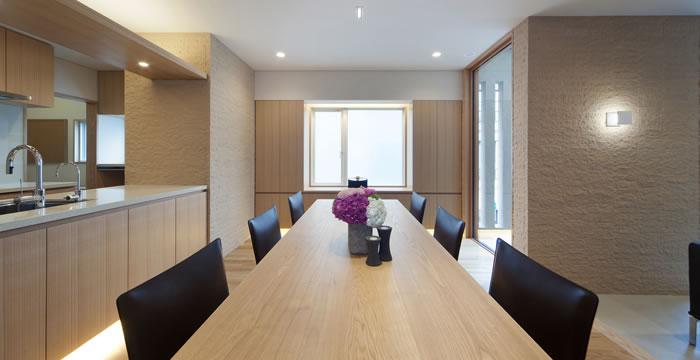 完全自由設計施工 ALLの高級注文住宅 CASE14 囲われた開放的な家