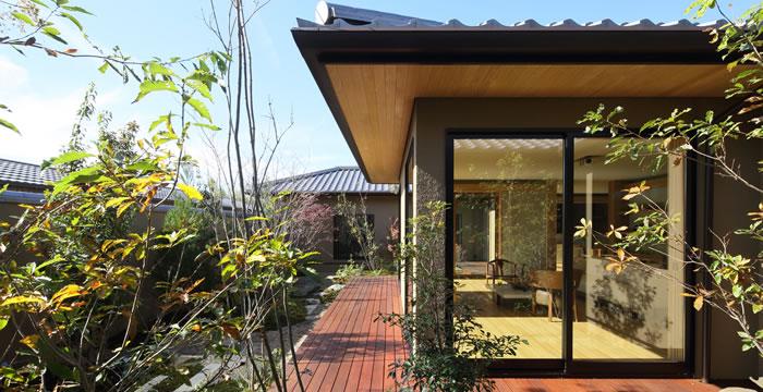 完全自由設計施工 ALLの高級注文住宅 CASE 16 緑翳和邸