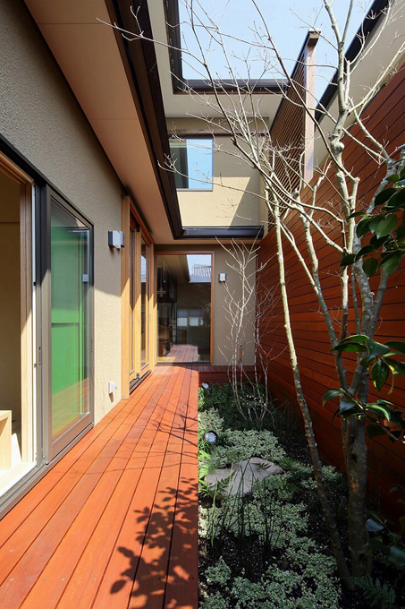 ALLの高級注文住宅「庭を囲む家」13
