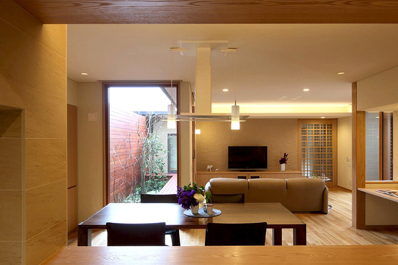 ALLの高級注文住宅「庭を囲む家」7