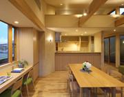 ALLの高級注文住宅-石釜のある平屋の家