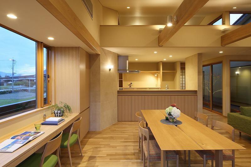 ALLの高級注文住宅「石釜のある平屋の家」12