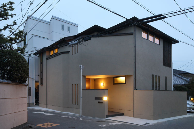 ALLの高級注文住宅「阿倍野の家」1