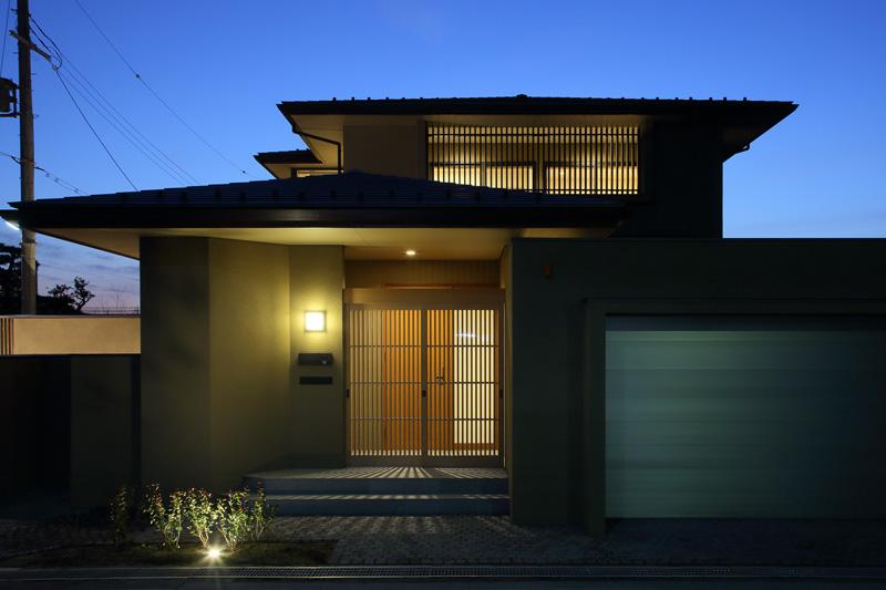 ALLの高級注文住宅「長浜の家」1