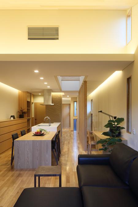 ALLの高級注文住宅「二条通の家」2