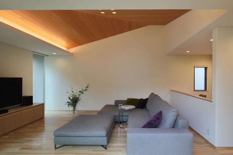 ALLの高級注文住宅「勾配天井のある家」4
