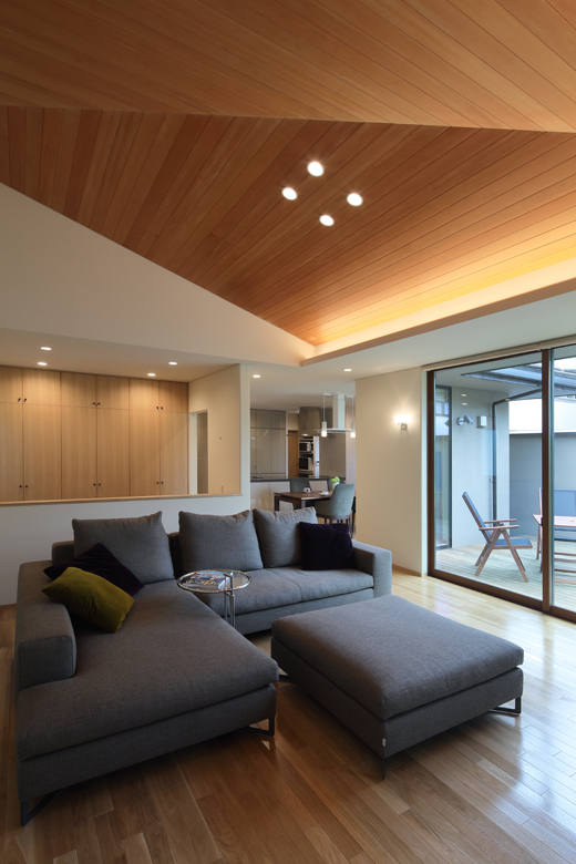 ALLの高級注文住宅「勾配天井のある家」5