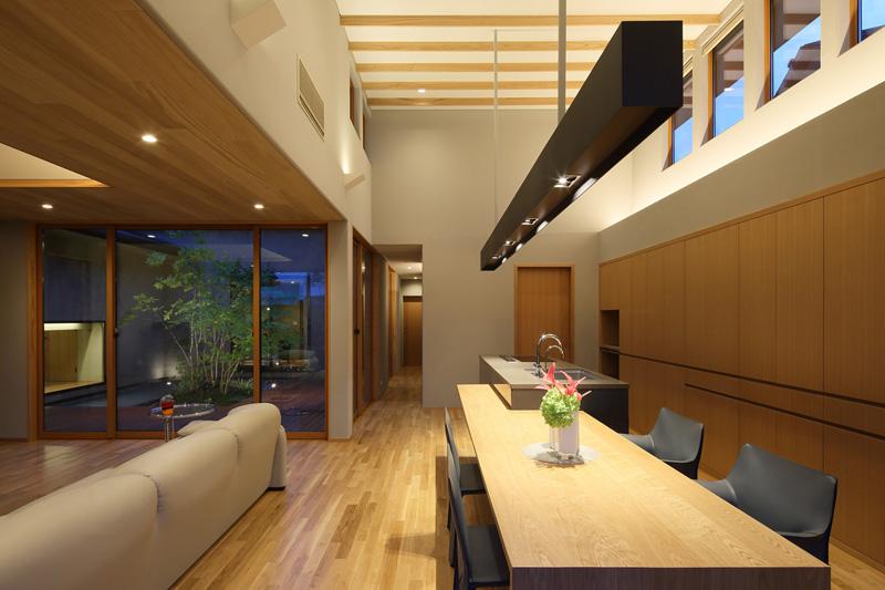 ALLの高級注文住宅「回廊平家」13