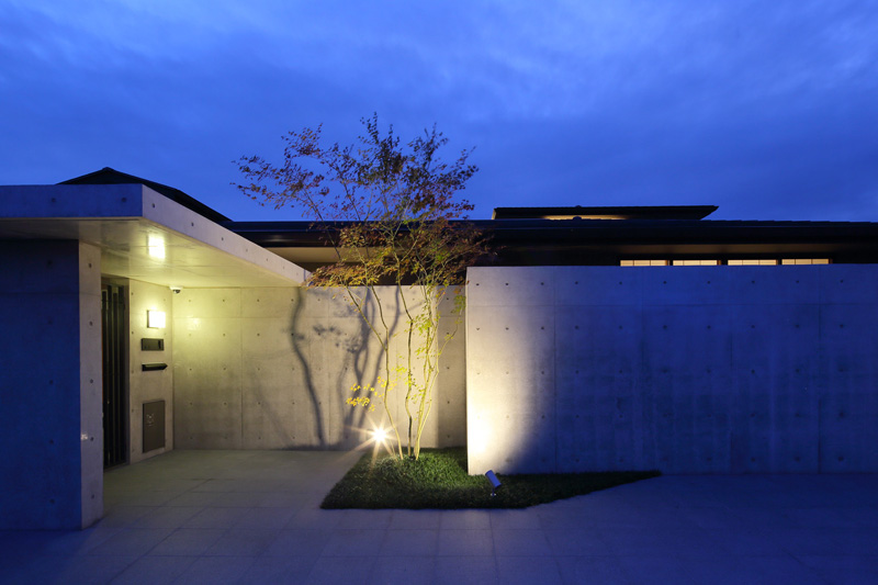 ALLの高級注文住宅「回廊平家」16