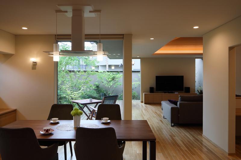 ALLの高級注文住宅「勾配天井のある家」1