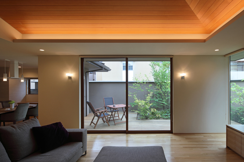 ALLの高級注文住宅「勾配天井のある家」2