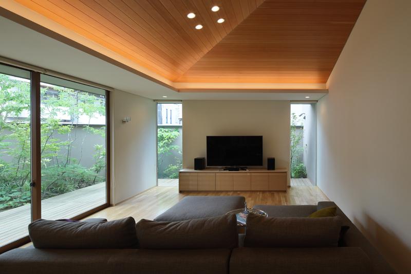 ALLの高級注文住宅「勾配天井のある家」3