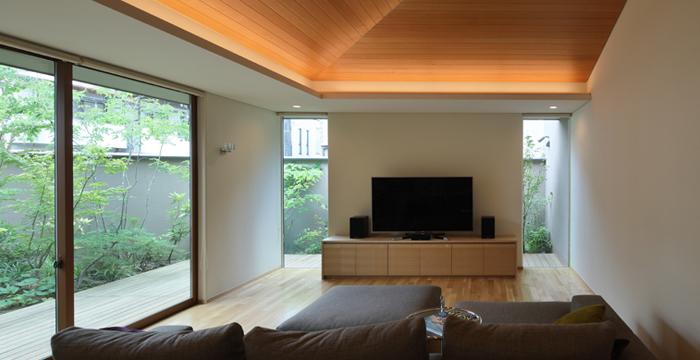 完全自由設計施工 ALLの高級注文住宅 CASE22 勾配天井のある家