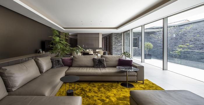 完全自由設計施工 ALLの高級注文住宅 CASE23 下鴨のコートハウス