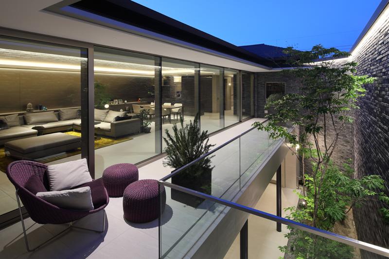 完全自由設計施工 ALLの高級注文住宅 CASE23 下鴨のコートハウス 詳細1