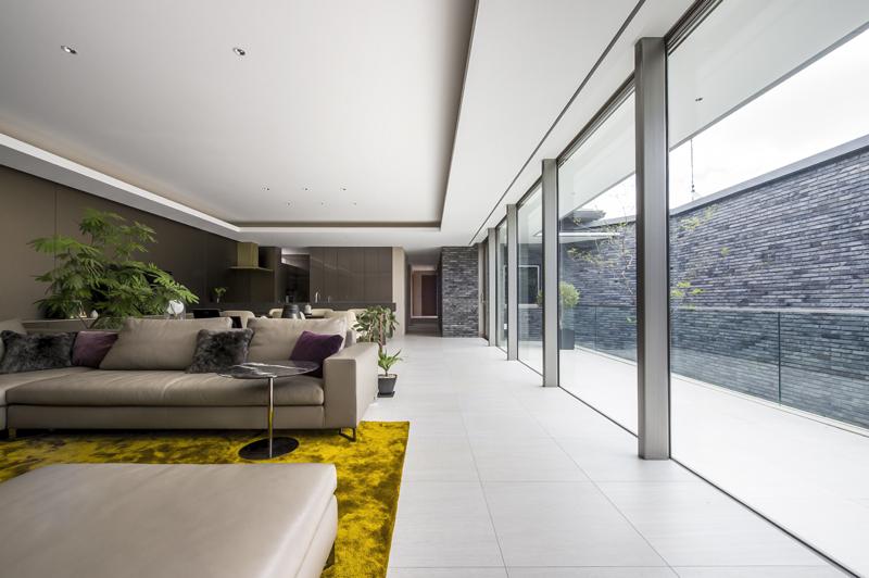 完全自由設計施工 ALLの高級注文住宅 CASE23 下鴨のコートハウス 詳細2
