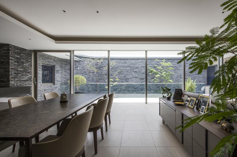 完全自由設計施工 ALLの高級注文住宅 CASE23 下鴨のコートハウス 詳細3