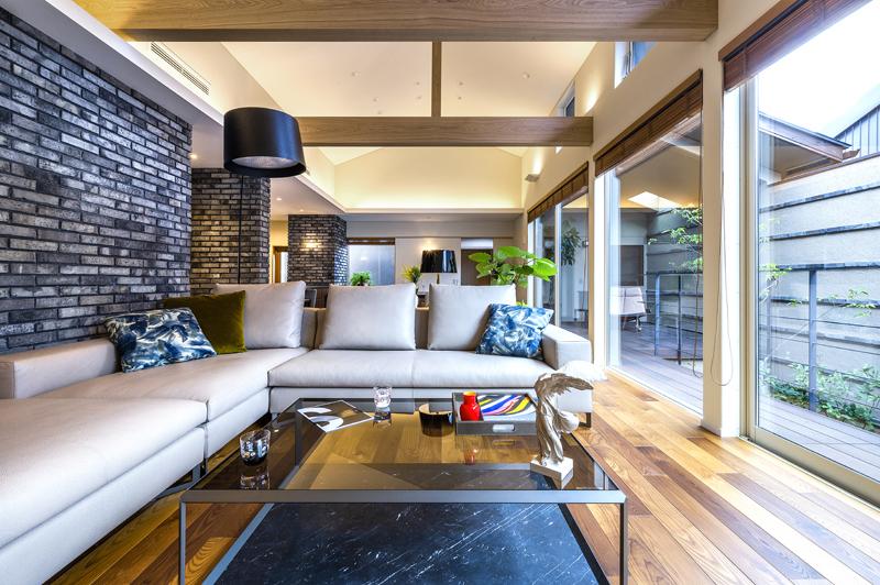 完全自由設計施工 ALLの高級注文住宅 CASE26 御所東のコートハウス 詳細1