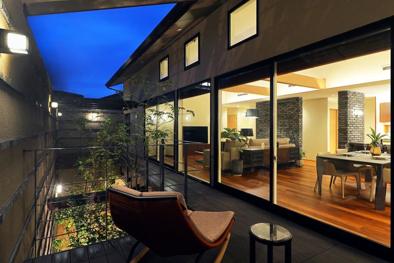完全自由設計施工 ALLの高級注文住宅 CASE26 御所東のコートハウス 詳細2