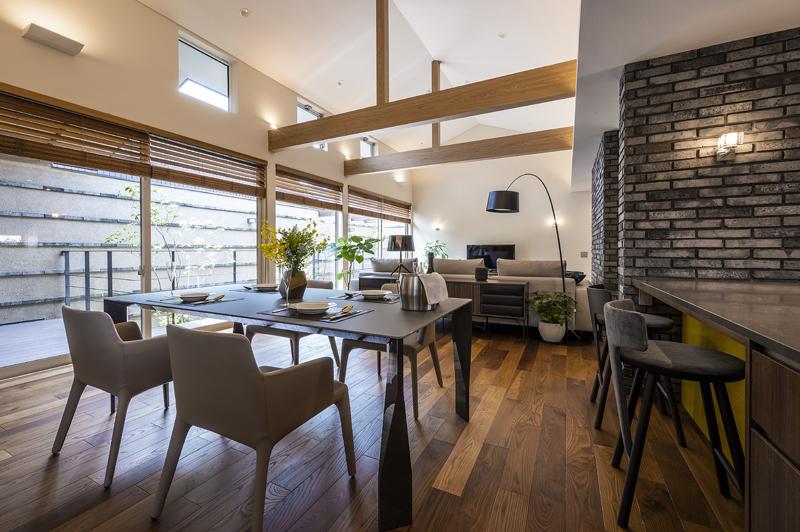 完全自由設計施工 ALLの高級注文住宅 CASE26 御所東のコートハウス 詳細3