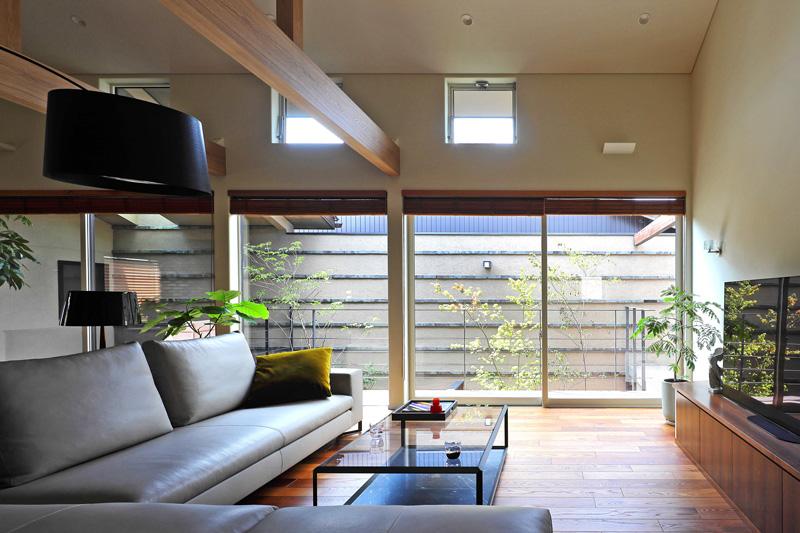 完全自由設計施工 ALLの高級注文住宅 CASE26 御所東のコートハウス 詳細5