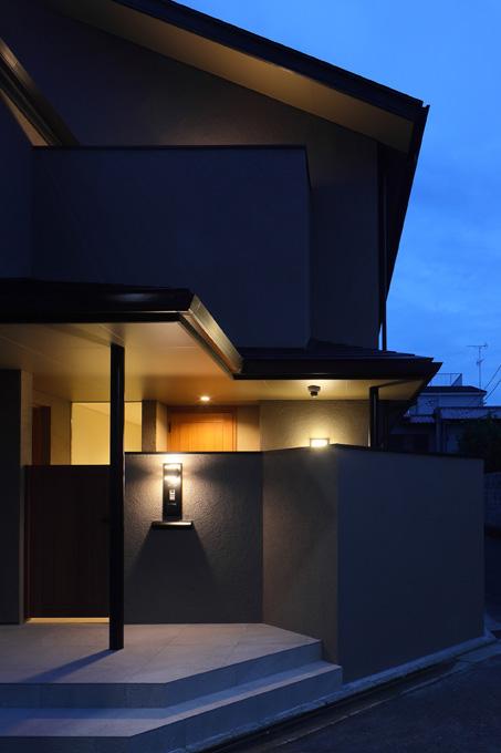 完全自由設計施工 ALLの高級注文住宅 CASE26 御所東のコートハウス 詳細11