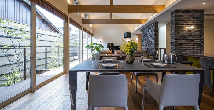 完全自由設計施工 ALLの高級注文住宅 CASE26 御所東のコートハウス