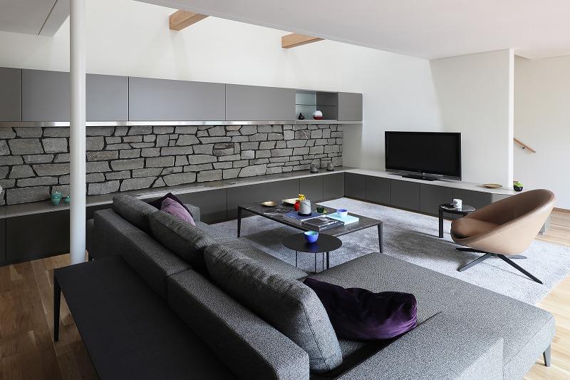 完全自由設計施工 ALLの高級注文住宅 CASE25 石貼りのモダン住宅 詳細6